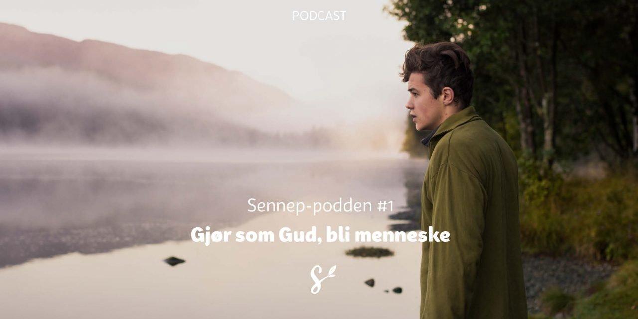 Sennep-podden #1 | Gjør som Gud, bli menneske | Med Terje Dahle og Håkon Pettersen