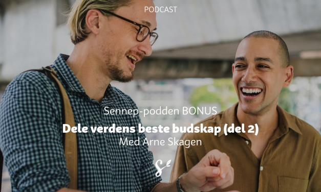 #BONUS | Dele verdens beste budskap del 2 | Med Arne Skagen