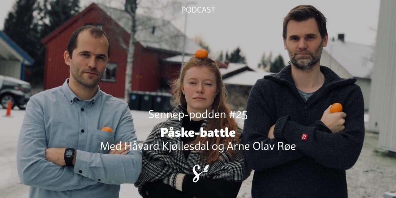 #25 | Påskebattle | Med Arne Olav Røe og Håvard Kjøllesdal