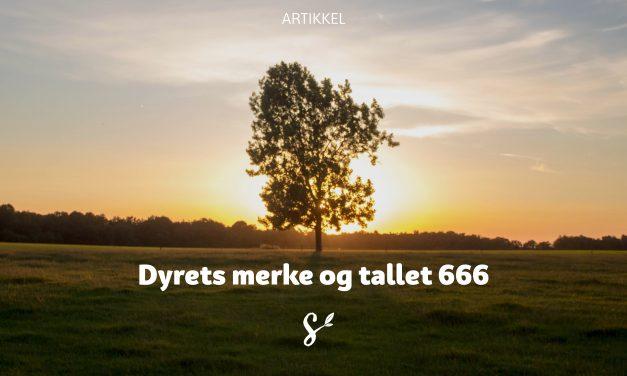 Dyrets merke og tallet 666