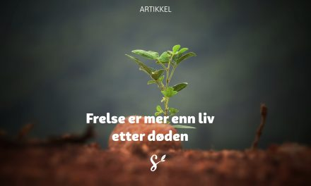 Frelse er mer enn liv etter døden