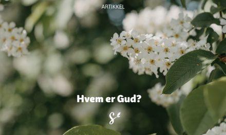 Hvem er Gud?