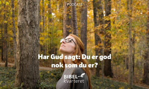 Har Gud sagt: Du er god nok som du er? | Med Norleif Askeland