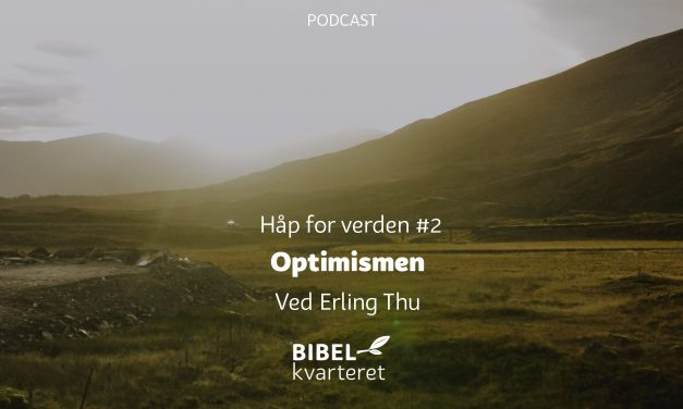 Håp for verden #2 | Optimismen | Ved Erling Thu