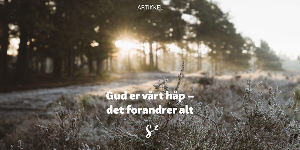 gud er vårt håp - tittelbilde