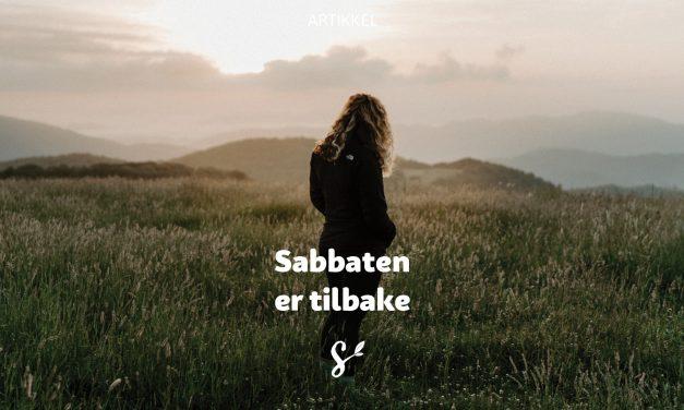 Sabbaten er tilbake